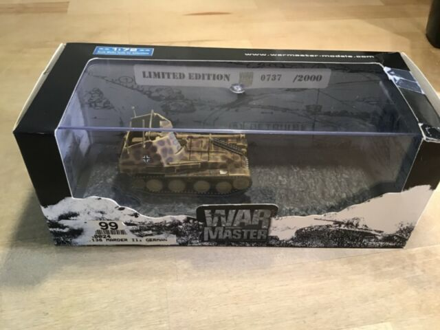 War master 1:72  German army tank Marder  0737/2000 MIB