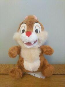 Disney-Oficial-Chip-y-Dale-Dale-Juguete-Suave-Felpa-Pequeno-en-muy-buen-estado-18cm