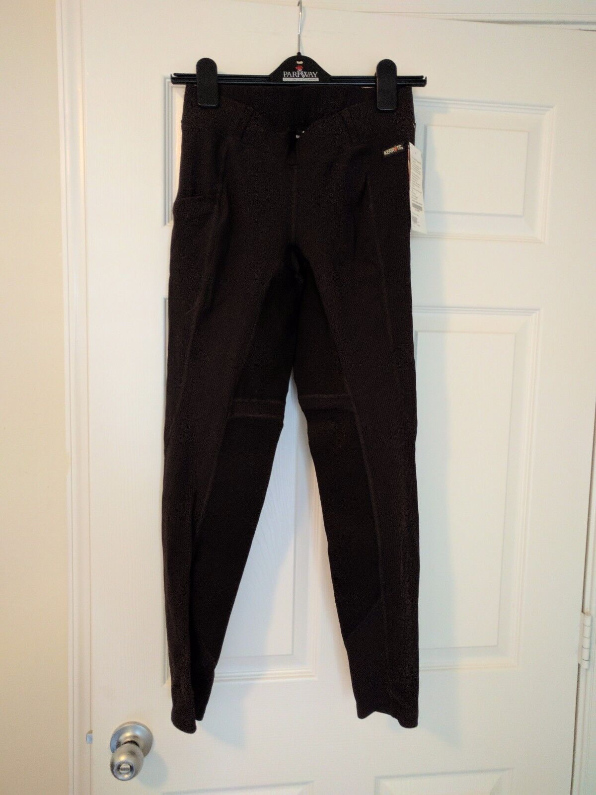 Kerrits  Breathe II Channel Rib breeches, medium, bridle brown, new with tags  global distribution