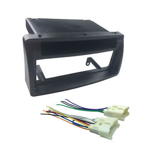 Stupendous Single Din Fascia For Corolla Stereo Install Dash Mount Kit Wiring Wiring 101 Capemaxxcnl