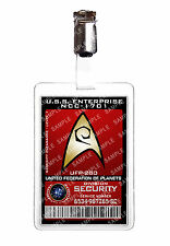 Star Trek Security Division Starfleet ID Badge Cosplay Prop Costume Comic Con
