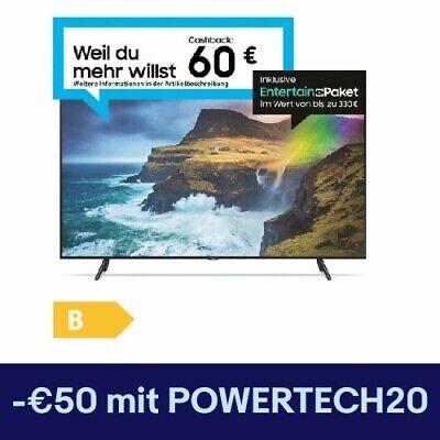 "Samsung 55"" QLED UHD Smart 2 Tuner GQ55Q70RGTXZG 139cm"