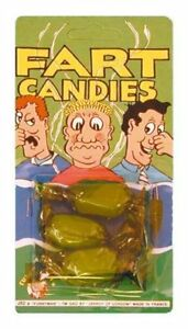 FUNNY JOKE PRANK Sweets Toffee Fart Fun Candy Christmas Gift Stocking Filler UK