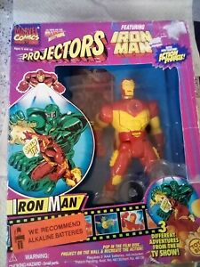 IRON MAN - Marvel Comics - PROJECTOR SERIES ACTION FIGURE 1995 TOYBIZ - NEW