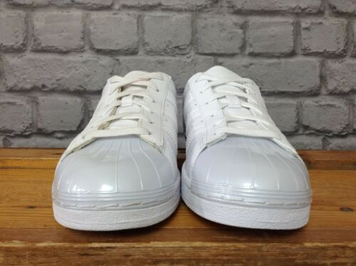deporte 5 Zapatillas Ladies Eu brillante cuero 80 punta Adidas Superstar brillante 38 de £ de White Uk con nnX15r
