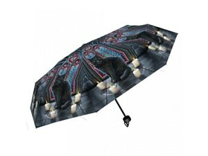 Lisa-Parker-Telescopic-Umbrella-featuring-Sacred-Circle-design