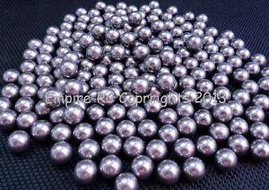 "6.35mm 0.25/"" 1//4/"" G16 Hardened Loose Carbon Steel Bearing Balls 50 PCS"
