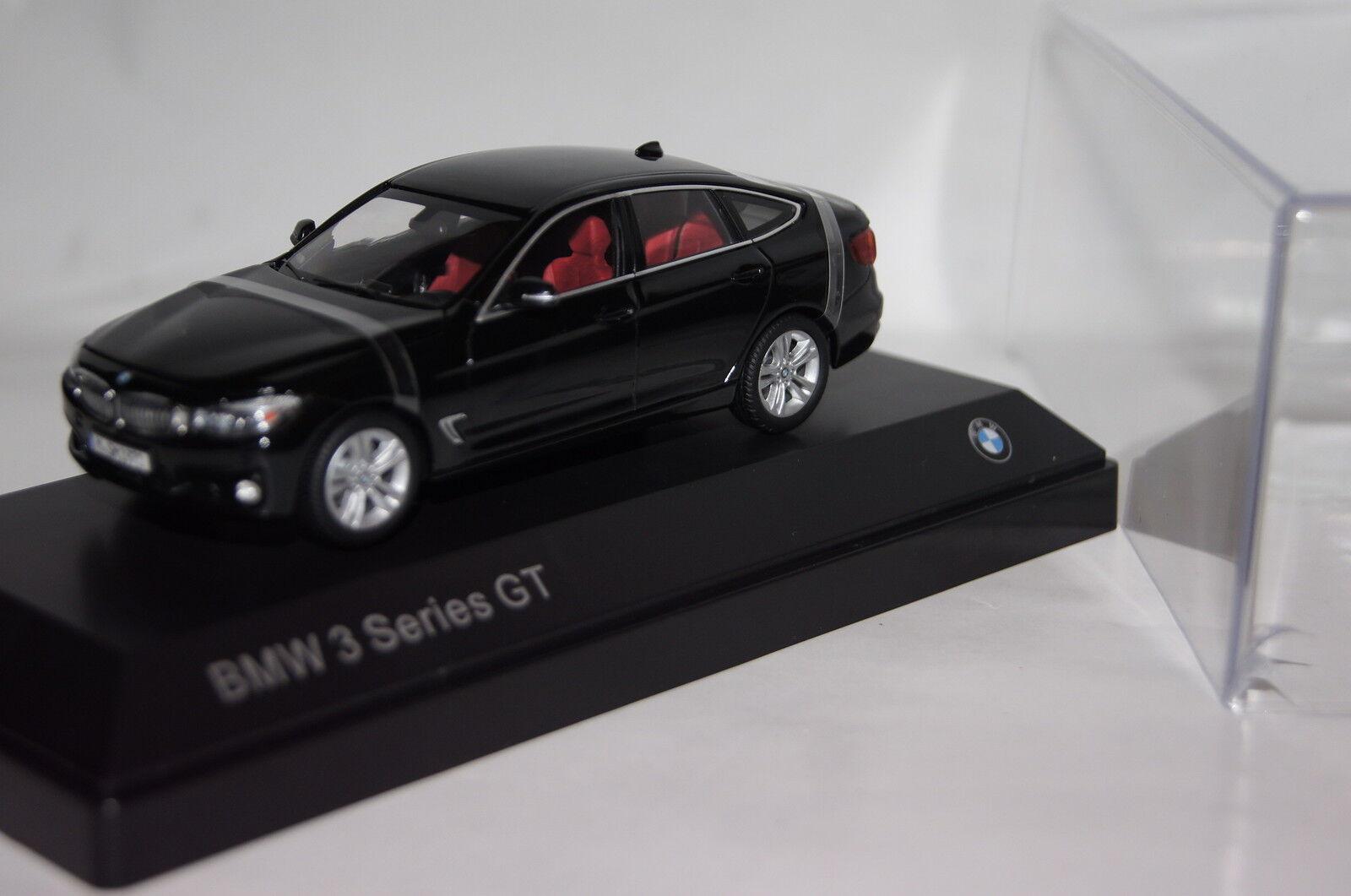 BMW 3er GT 2013 Noir sapphiremetallic BMW Nouveau & OVP 80422297635