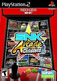SNK Arcade Classics vol. 1 PS2 New Playstation 2
