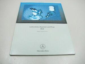MERCEDES Lacksysteme Pflege PKW 2006 Werkstatthandbuch Manual 6516133300