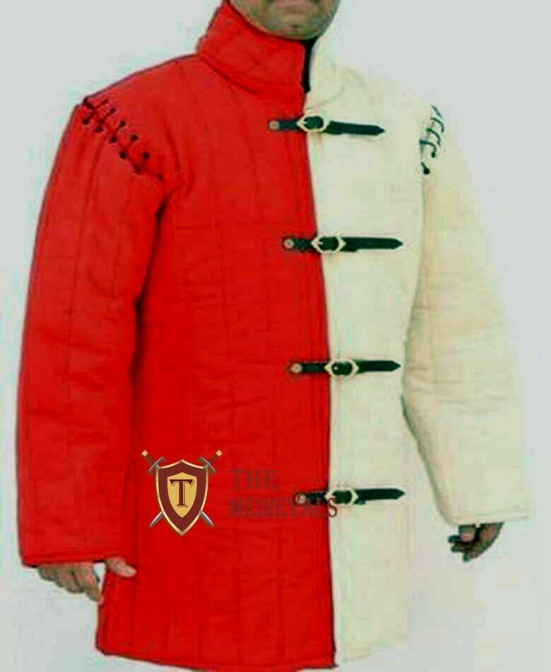 Medieval Gambeson Aketon costumes knight armor theater Jacket for sca armor larp
