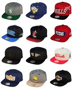 f6dee246a1d Image is loading New-Mitchell-amp-Ness-NBA-Basketball-Caps-Snapback-