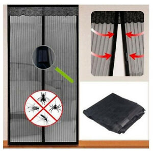 Magnetique-Mesh-door-MAGIC-protection-rideau-Snap-Fly-Bug-Insect-Moustique-Ecran