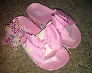 JoJo Siwa White Sliver Pink Bow