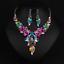 Fashion-Wedding-Caystal-Rhinestone-Choker-Bib-Necklace-Statement-Bridal-Jewelry thumbnail 76