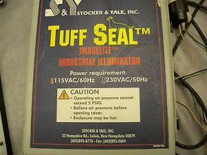 Tuff-Seal-Imagelite-Industrial-Illuminator-Stocker-amp-Yale-115VAC-60HZ