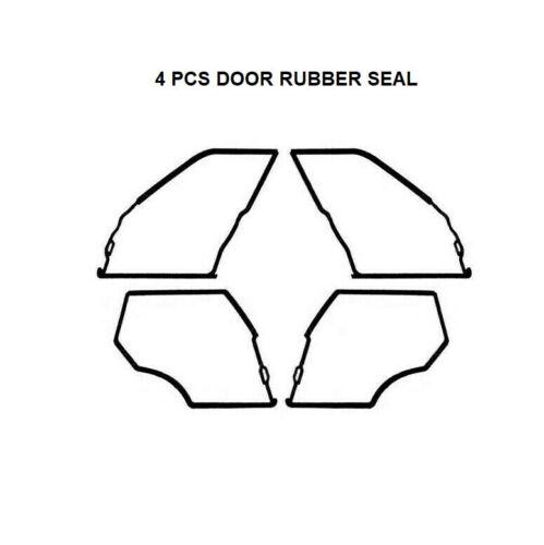 Mercedes Benz W201 Door Seals Weatherstrip OUTER DOOR Seal Gaskets 190E 200E