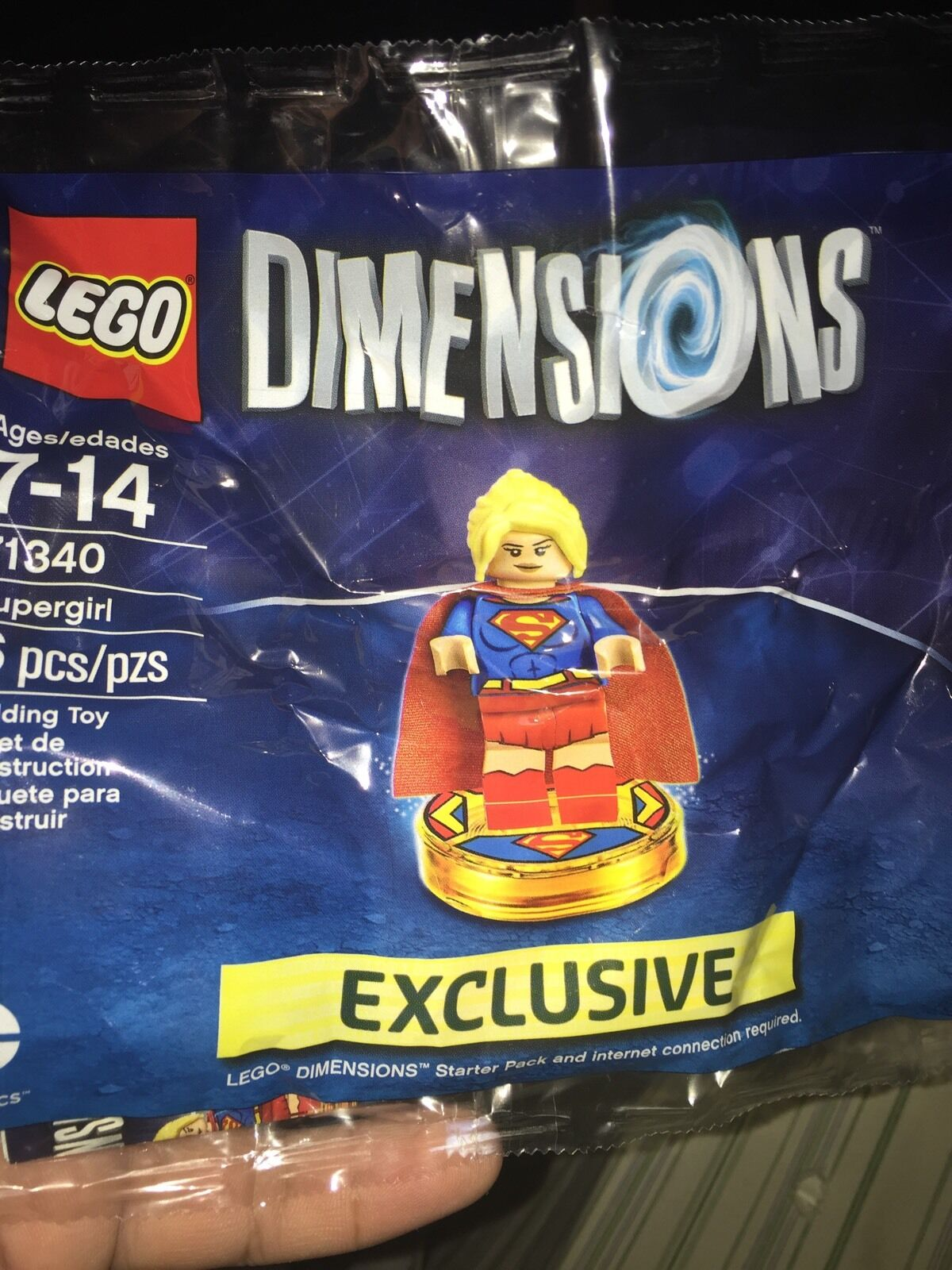 Lego 71340 Supergirl Dimensions Polybag  Rare Exclusive
