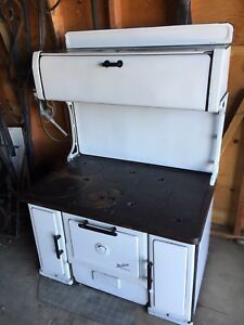 Antique Wood Cook Stove - made by Renfrew