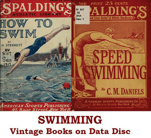 30a22b24b7805 Image is loading Swimming-amp-Water-Polo-Collection-of-Vintage-Books-