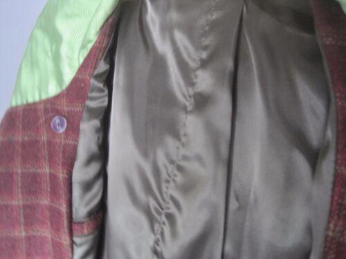 grande Cappotto lana in tweed tartan Puffa di di ra0rqWRwHc