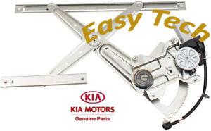 Power Window Motor and Regulator 0K01973560 Rear L For Kia Sportage 1995-2000