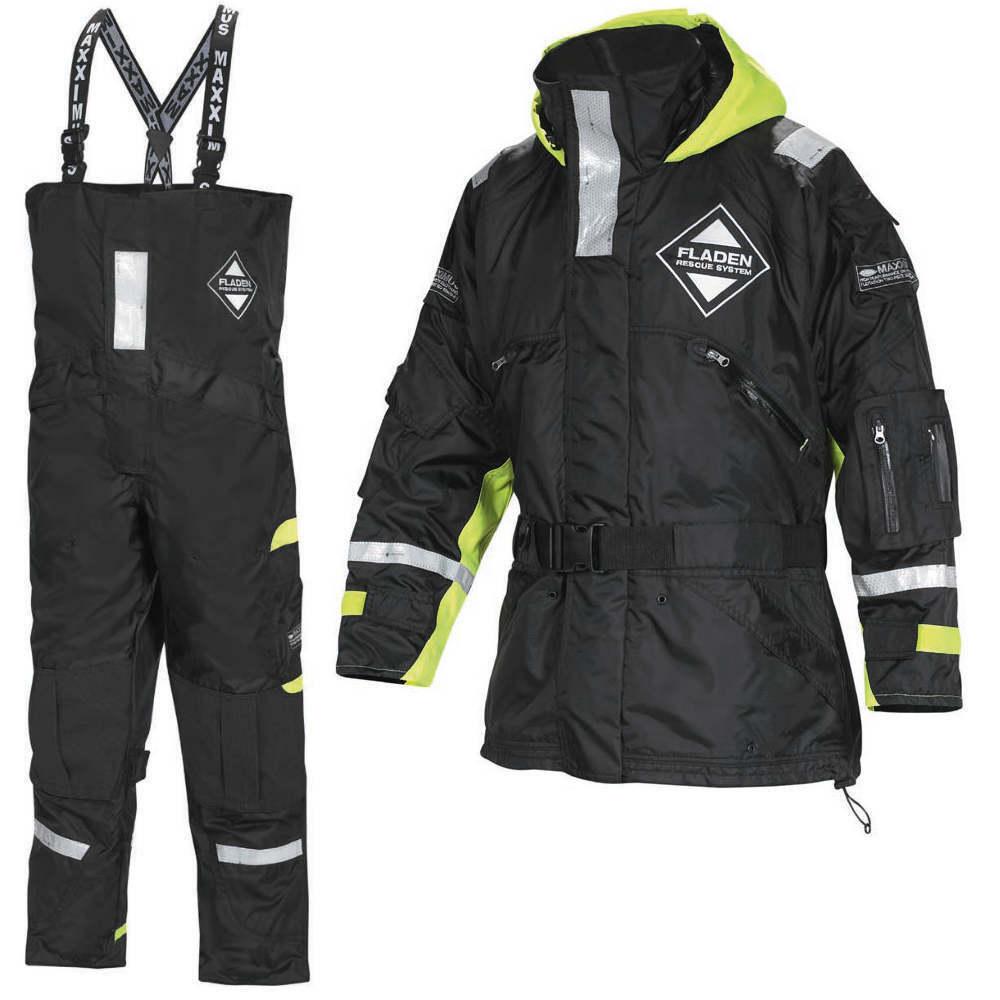 FLADEN Maxximus flottazione Suit 850855 Giacca  Pantaloni Tg S COSTUMONE nuoto