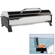 Kuuma Profile 150 Gas BBQ SS Compact Grill 9,000 BTU Regulator Marine Boat 58121