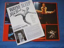 1984 Wayne Sleep Dash Show Theatre Souvenir Programme London