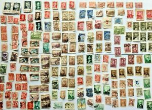 Stamp Collection Argentina eg.Evita & Worldwide 1950's to 80's · 100's OF STAMPS