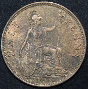 1930 | George V Half-Penny | Pièces | KM Pièces-afficher le titre d`origine