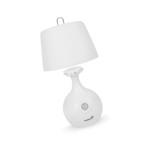 Dual Color Range ... Details about  /Ivation 12-LED Battery Operated Motion Sensing Table Lamp