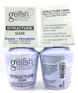 Harmony-Gelish-Soak-Off-BRUSH-ON-STRUCTURE-GEL-CLEAR-0-5oz-15ml