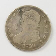 1829 US Mint Bust 50 Cent Half Dollar Silver Coin
