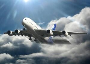 Details about AIRBUS A380 POSTER Aeroplane Takeoff Wall Art Photo Print  Poster A4 A3