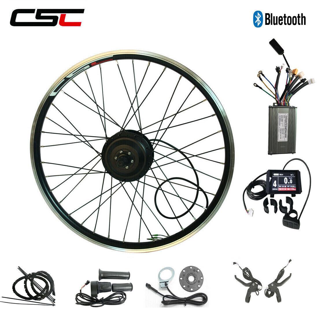 Ebike ANTERIORE POSTERIORE MOTORE RUOTA Kit di conversione 36V 250W 350W 500W bicicletta elettrica