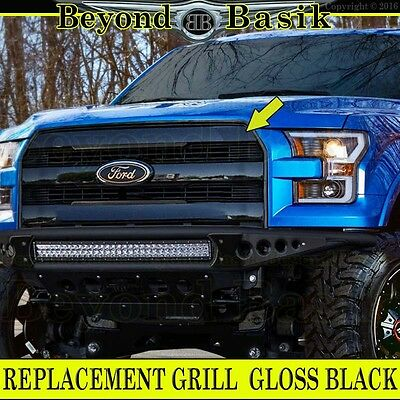 2015 2016 2017 FORD F150 F-150 TRIPLE CHROME Grille Grill OE King Ranch Style