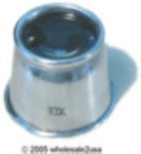 1 (One) Piece Jewelers Metal Eye Loupe Magnifier Tool