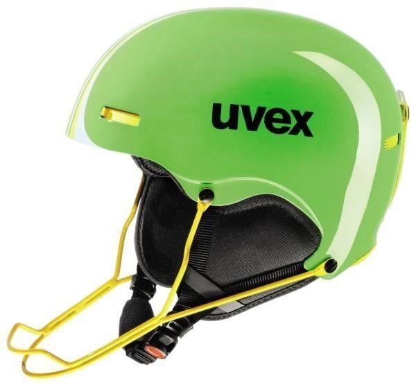 UVEX Hlmt 5 Race Downhill Helmet - light Grün yel