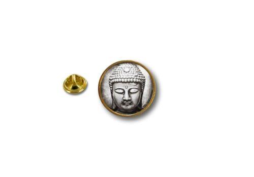 pins pin/'s flag badge metal lapel hat button biker  buddha buddhist yoga hindu