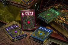 Set of 4 Regal Playing Card Decks Brand New Limited by Gamblers Warehouse
