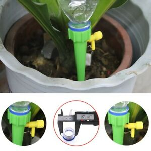 12PCS-Automatic-Self-Watering-Spikes-System-Garden-Home-Plant-Pot-Waterer-Tools