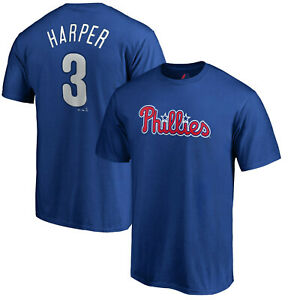lowest price 6f978 518b5 Details about Bryce Harper Philadelphia Phillies Majestic Authentic Youth  Jersey T-Shirt Boys