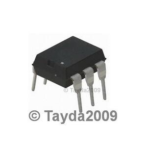 10 x MOC3041 3041 Zero-Cross Optoisolators Triac Driver Output IC FREE SHIPPING