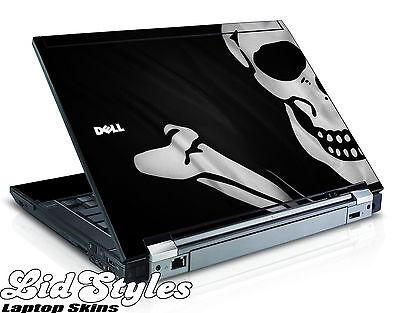 LidStyles PIRATE SKULL FLAG Vinyl Laptop Skin Decal fits Dell Latitude E6400