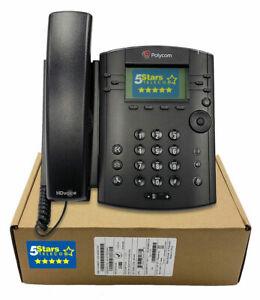 Polycom-VVX-301-IP-Phone-SIP-PoE-2200-48300-025-Brand-New-1-Year-Warranty