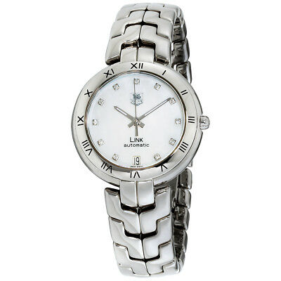 Tag Heuer Link Mother of Pearl Dial Stainless Steel Ladies Watch WAT2315.BA0956