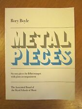 Metal Pieces by Rory Boyle for Trumpet and Piano *NEW* Grade 2 standard by ABRSM