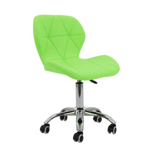 Home & Garden Adjustable Office Chair Cushioned Computer Desk ...