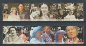 Isle-of-Man-2000-Queen-Mother-set-MNH-SG-875-80